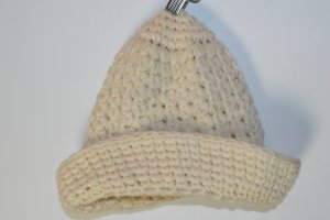 Vintage Cappello a maglia marrone