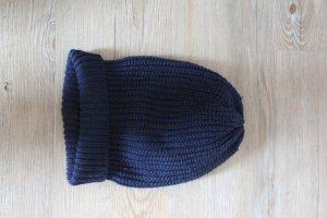 Mütze in dunkelblau