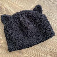 Monki Bonnet à pompon noir