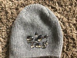 Esprit Knitted Hat grey-dark grey wool