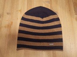 Joop! Fabric Hat beige-dark blue polyamide