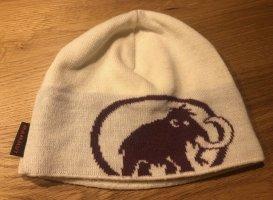 Mammut Fabric Hat cream-dark red