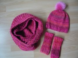 Knitted Hat multicolored new wool