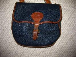 Mulberry Gekruiste tas bruin-blauw Leer