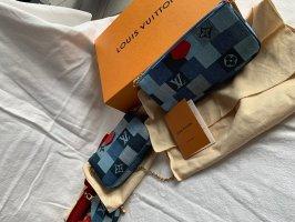 Louis Vuitton Pochette multicolore Cotone