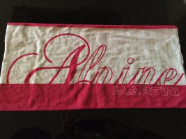 Martini Osvaldo Neckerchief white-magenta mixture fibre