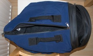 Adidas by Stella McCartney Sac de sport bleu foncé-noir