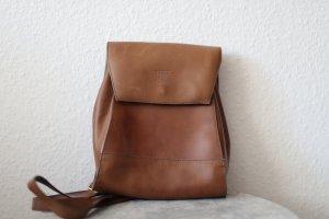 Trekking Backpack cognac-coloured