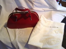 Francesco Biasia Bowling Bag red-cream leather