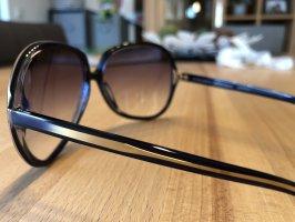 Oliver Peoples Retro Glasses gold-colored-dark blue