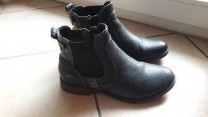 Mustang Shoes Tronchetto blu scuro