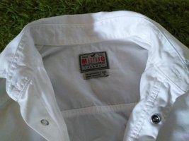 Mustang Camicia denim bianco