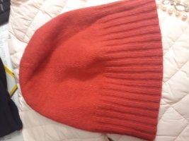 Mustang Mütze Wolle rot onesize