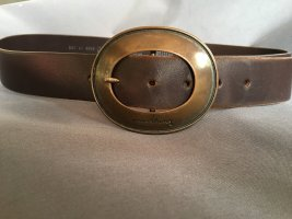 Mustang Leather Belt brown