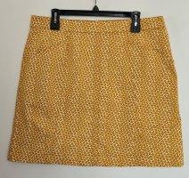 Boden Spódnica mini biały-złotopomarańczowy