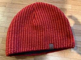 strellson Cappello in tessuto rosso mattone-arancione
