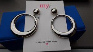 My Jewellery Wiszące kolczyki srebrny