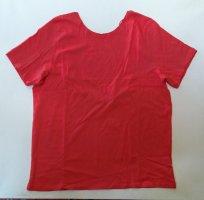 Na-kd T-Shirt mit Rückenausschnitt rot M neu