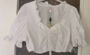 Naber Collection Traditional Blouse white cotton