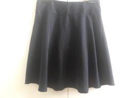 uvr connected Spódnica z koła czarny-ciemnoniebieski Modal