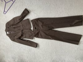 Pinstripe Suit brown-black brown