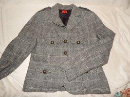 Nadine H. Blazer Grautöne Gr. 38 100 % Wolle