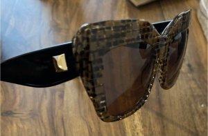 Max Mara Butterfly Glasses bronze-colored-black