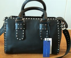 Rebecca Minkoff Bowling Bag black leather