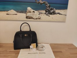 Nagelneue Michael Kors Sandrine Satchel Large navy