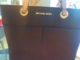 Nagelneue Michael kors shopper schwarz beige