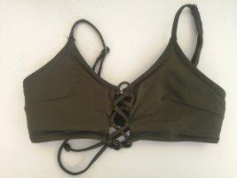 Nagelneues Khaki farbenes Bikinitop von H&m Gr. 36