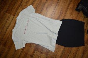 Nakd T-Shirt Gr. 40 mit Schrift