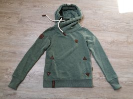 Naketano Pullover Sweatshirt S grün khaki