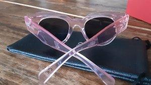 Nali Angular Shaped Sunglasses bright red