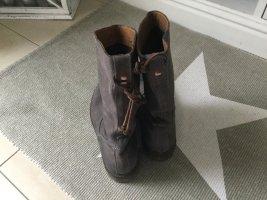 Napapijri Boots Knautsch Leder Größe 37