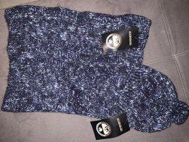 Napapijri Chapeau en tricot bleu acier-bleu foncé