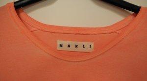 NARLI long sleeve Shirt langarm Grösse S in apricot