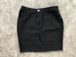 Nastygal Minirock in schwarz, Gr. S, neu