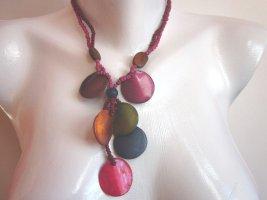 Ecstasy Collar de conchas multicolor