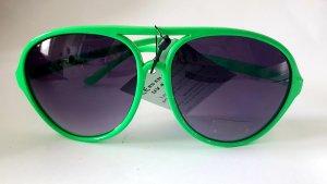 Neon Pilotenbrille Sonnenbrille grün unisex Brille Trends 2020