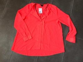 H&M Blusa taglie forti rosso chiaro
