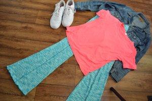 Neon Pinkes T-Shirt Gr. 40