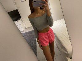 H&M Sport Shorts neon pink