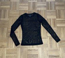 Primark Siateczkowa koszulka czarny