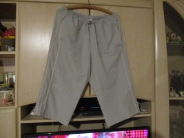 chikiwi sportswear Trackies light grey-silver-colored polyester