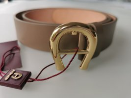 Aigner Leather Belt light brown