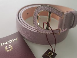 Aigner Leather Belt dusky pink-pink