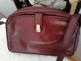 Neu Aigner Vintage Tasche Staubbeutel Schultertasche Tasche Crossover NR Bordeaux