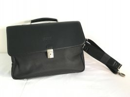 Texier Briefcase black leather