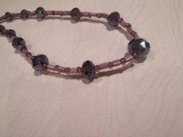 Handgemacht Collier de perles multicolore
